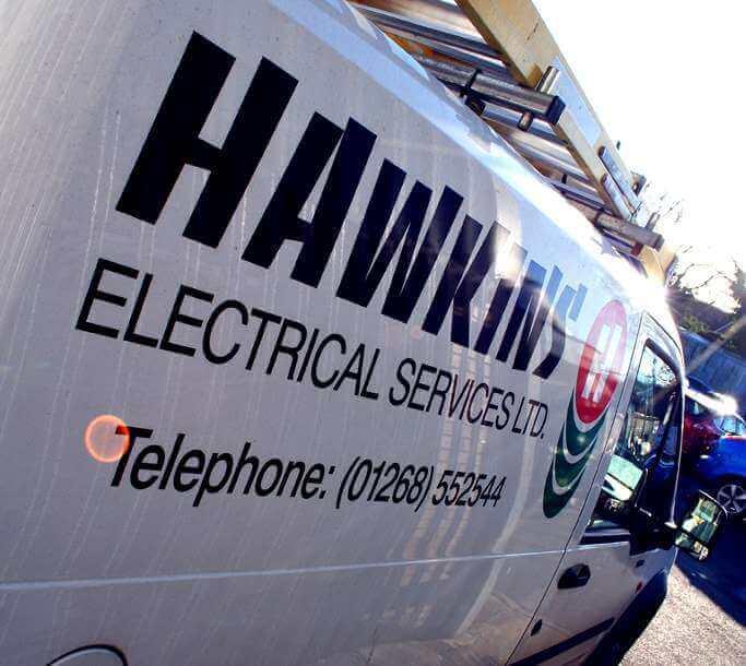 Basildon Electricians Van