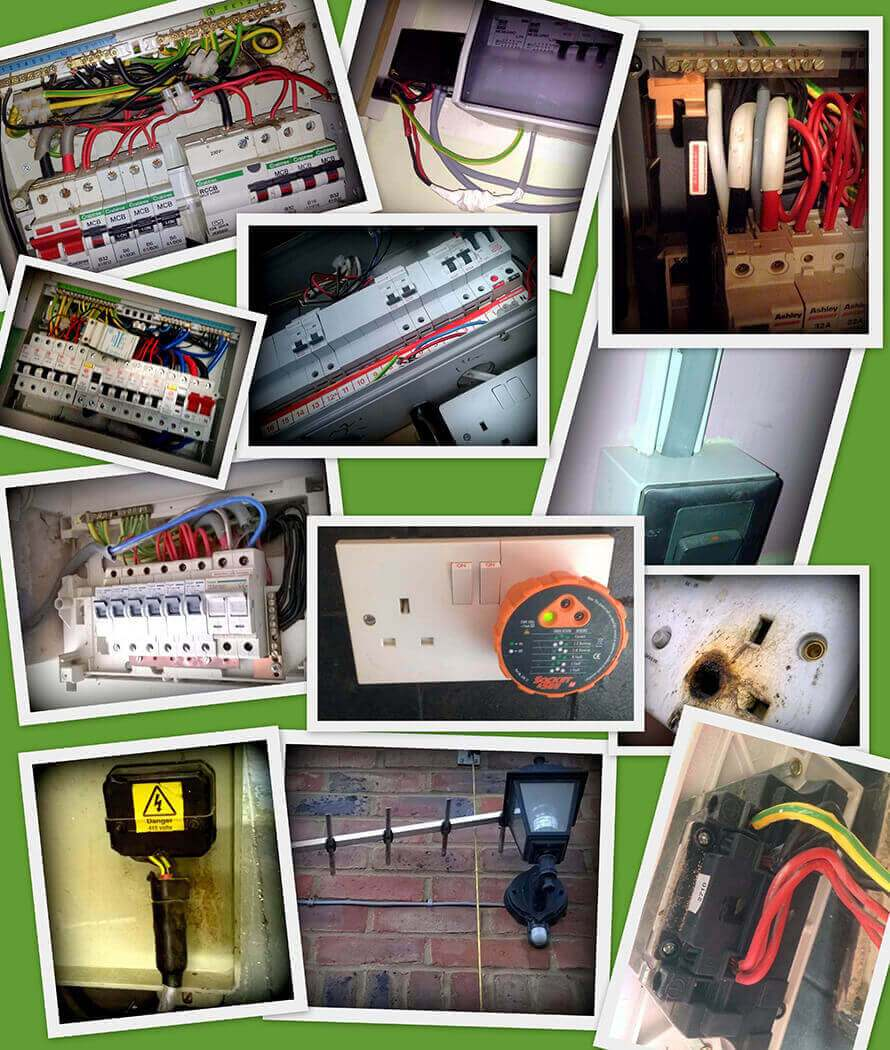 What the Basildon electrician saw