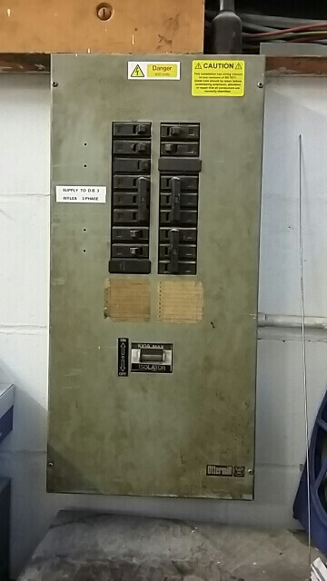 Older Fuse box in essex school