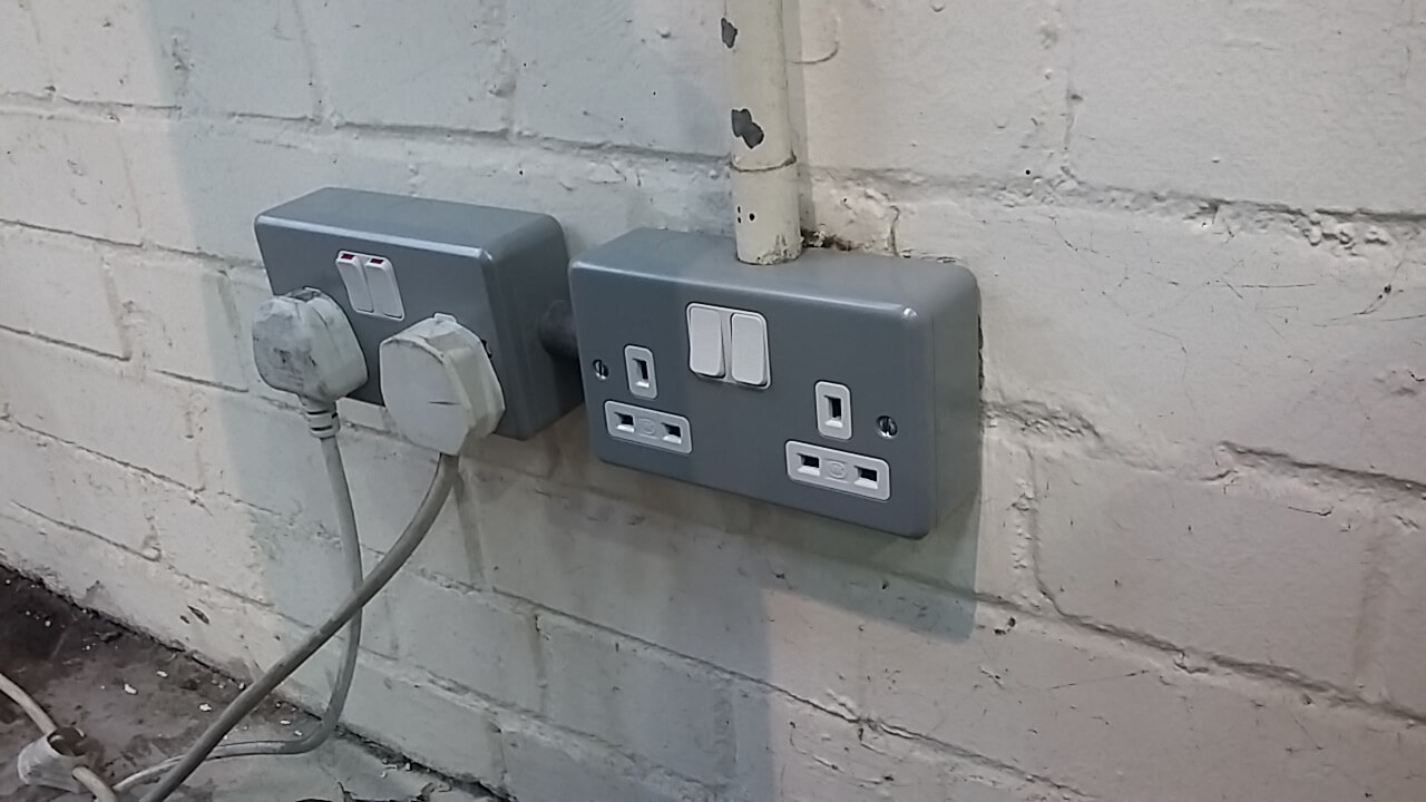 Bsildon power points installed by our contractor