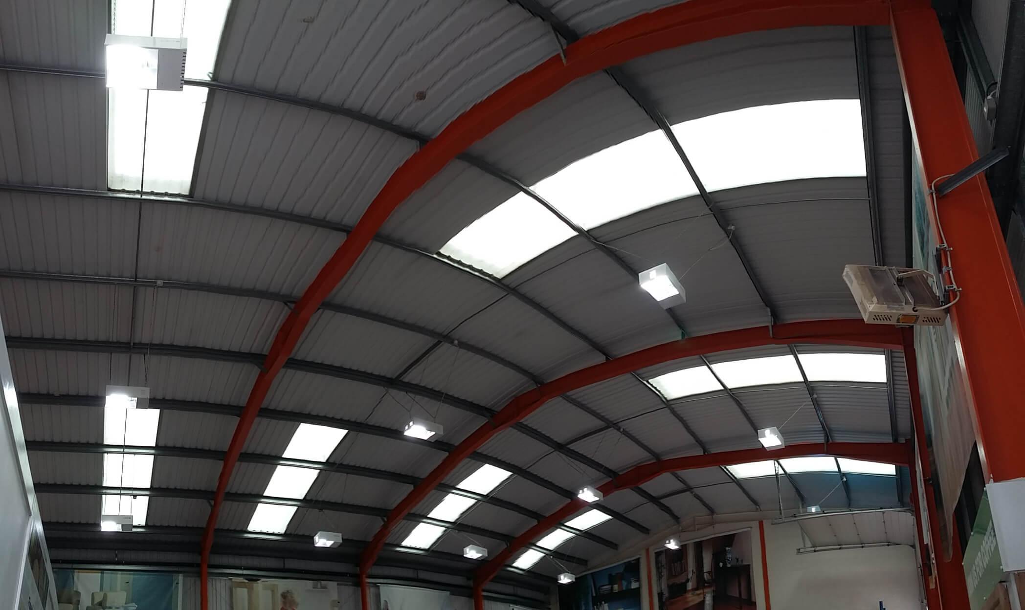 Basildon Essex electrical contractor installs LED lighting