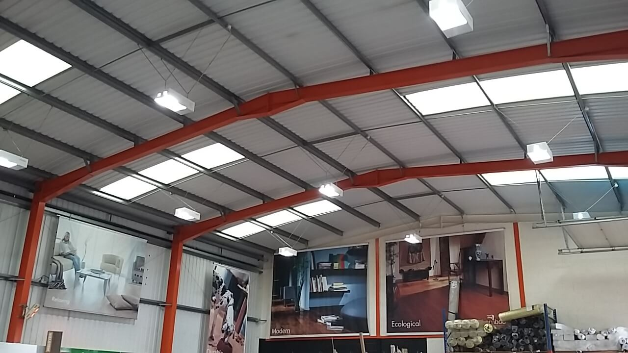 LED lighting upgrade in basildon essex by a licensed contrator