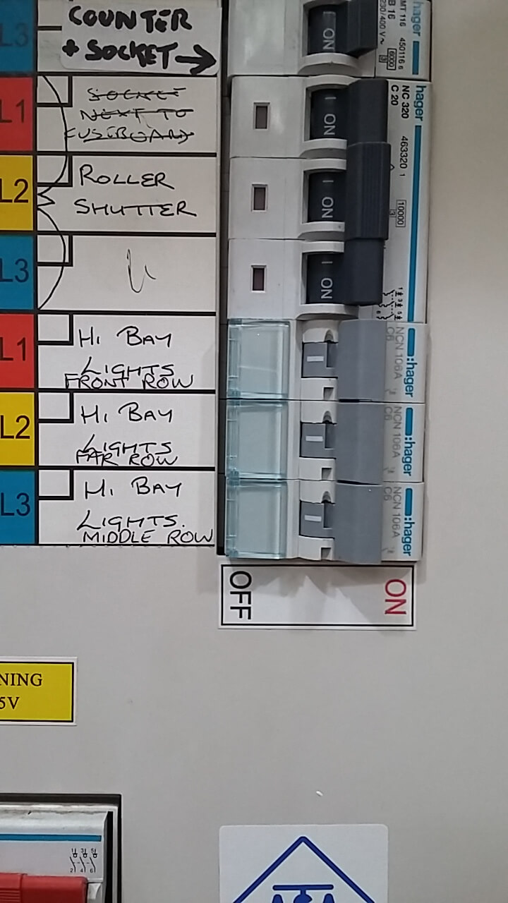 New fuse box upgrade basildon