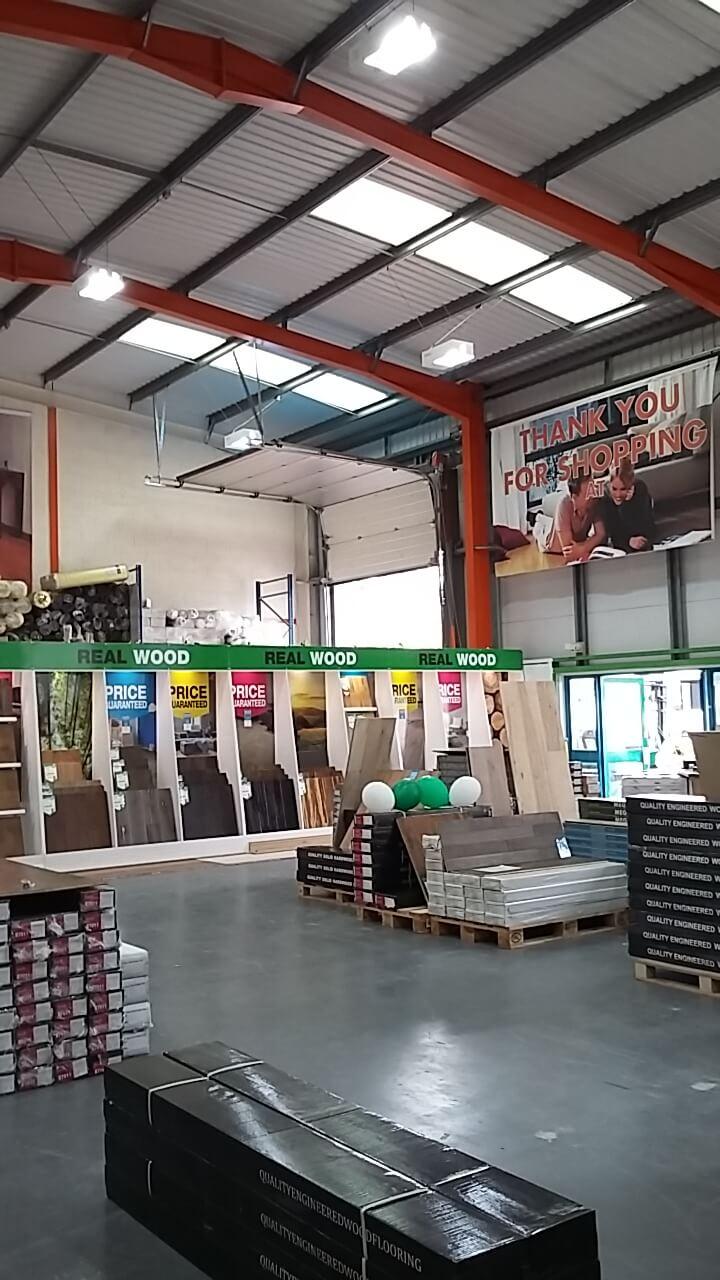 Basildon factory lighting upgrade