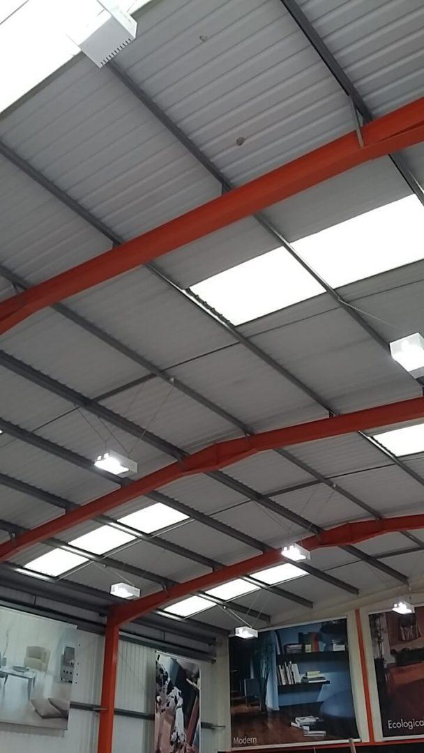 LED lighting brighter than the old standard lights