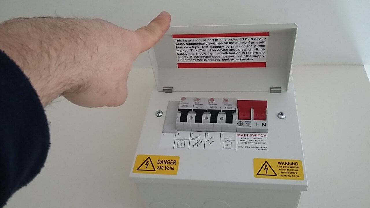 opening a fuse box